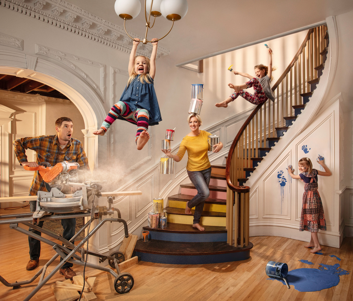 Portrait of a DIY Family by Dan McClanahan
