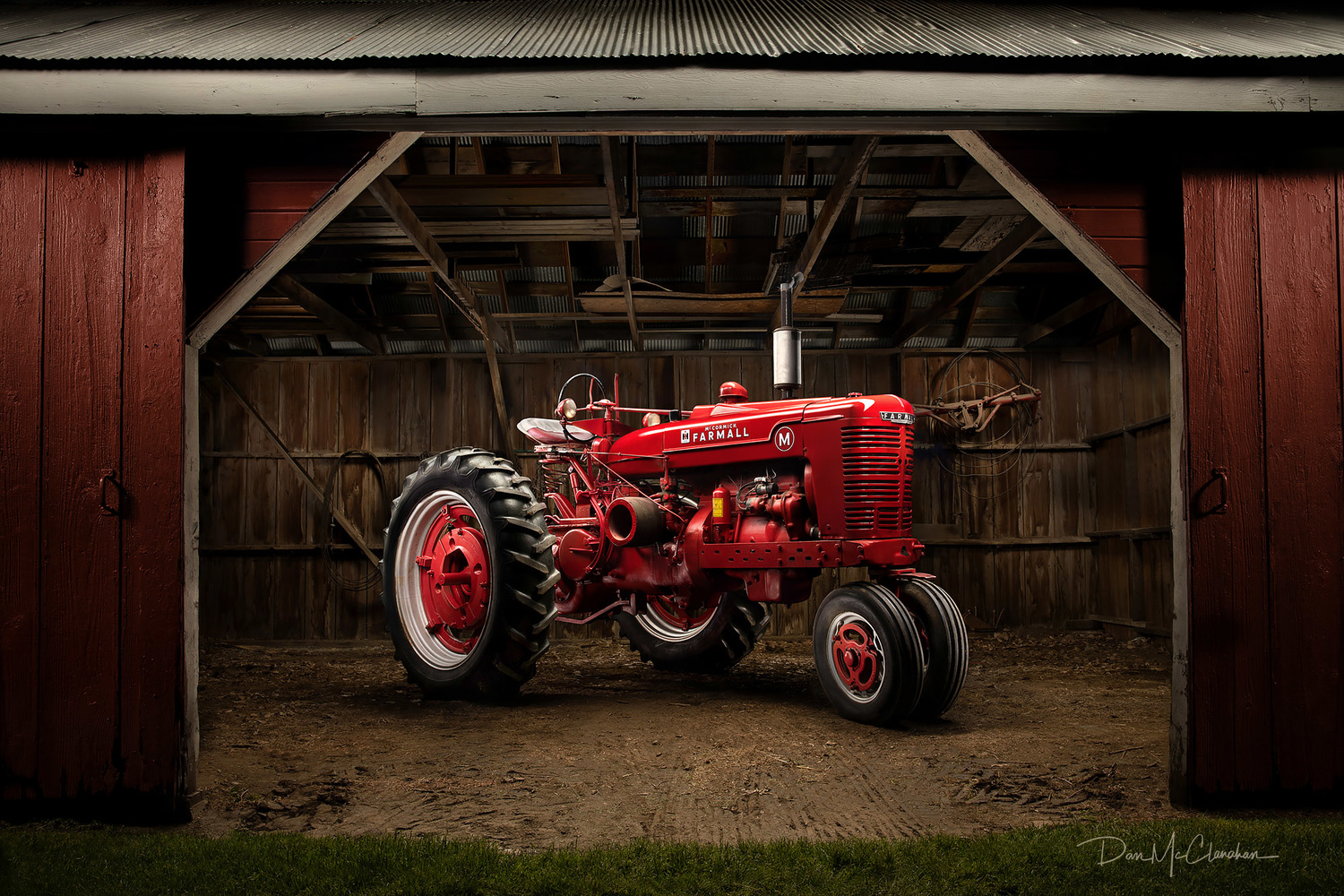 1951 Farmall Tractor by Dan McClanahan