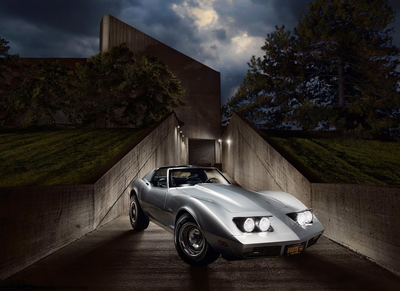 1974 Corvette Stingray by Dan McClanahan