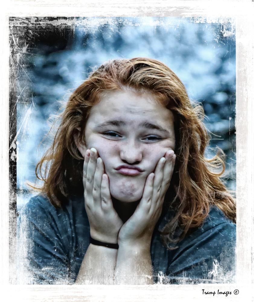 Frump Face by Wesley Nesbitt