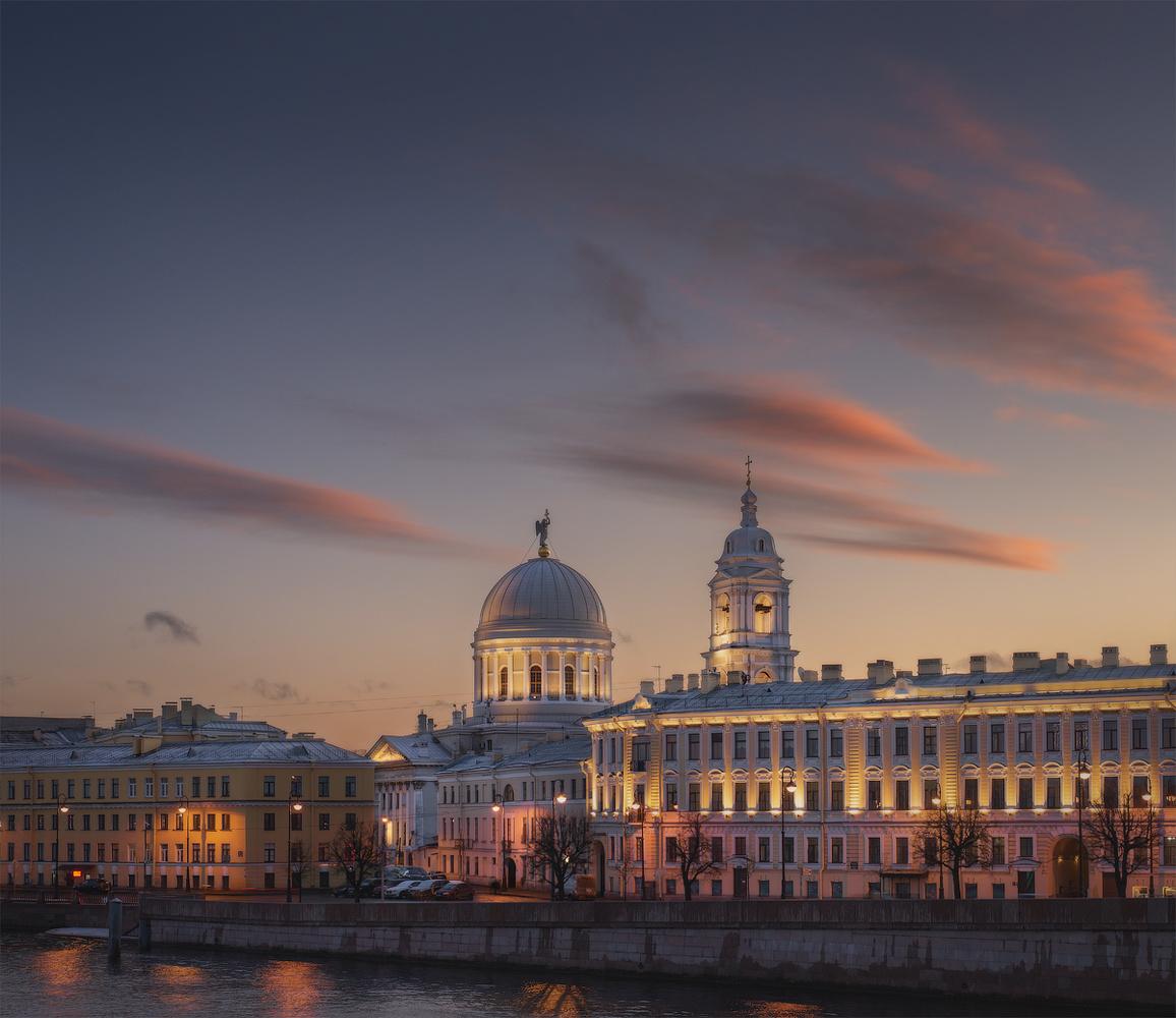 Festive Saint Petersburg by Dima Vorontsov