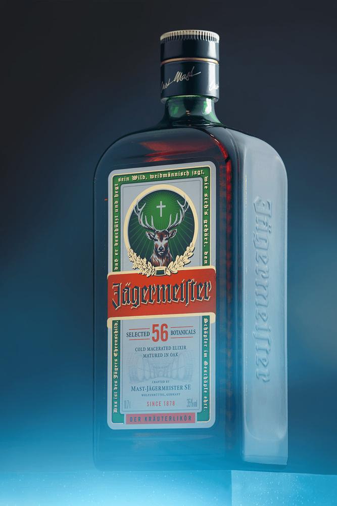 A bottle of Jägermeister by Miha Me