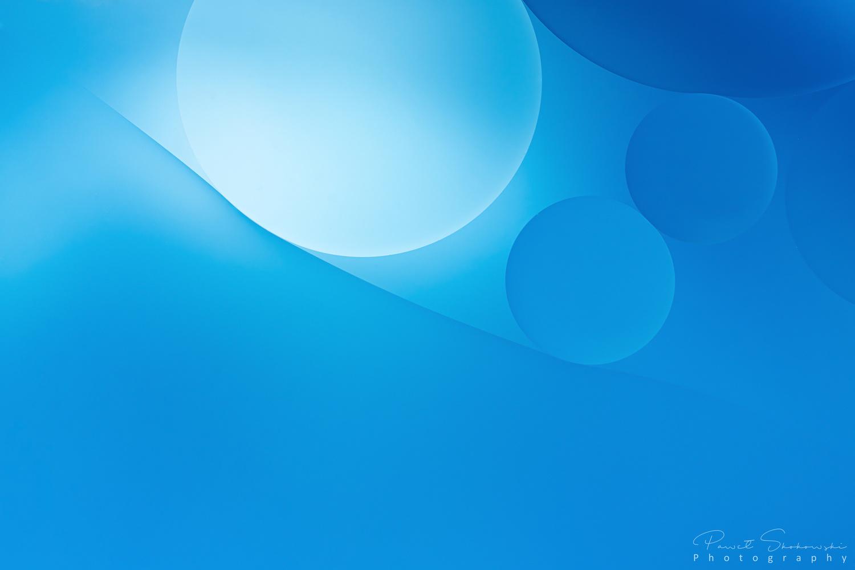 Minimalist blue by Paweł Skokowski