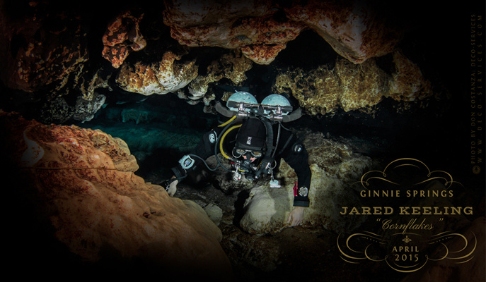 Cave Diving North Florida by don costanza