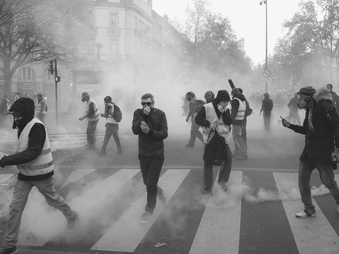 Yellow Vests by Laurent Bourrelly