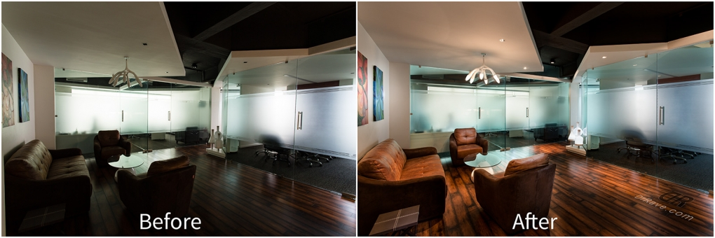 Office interior before after India by Ravi Tahilramani