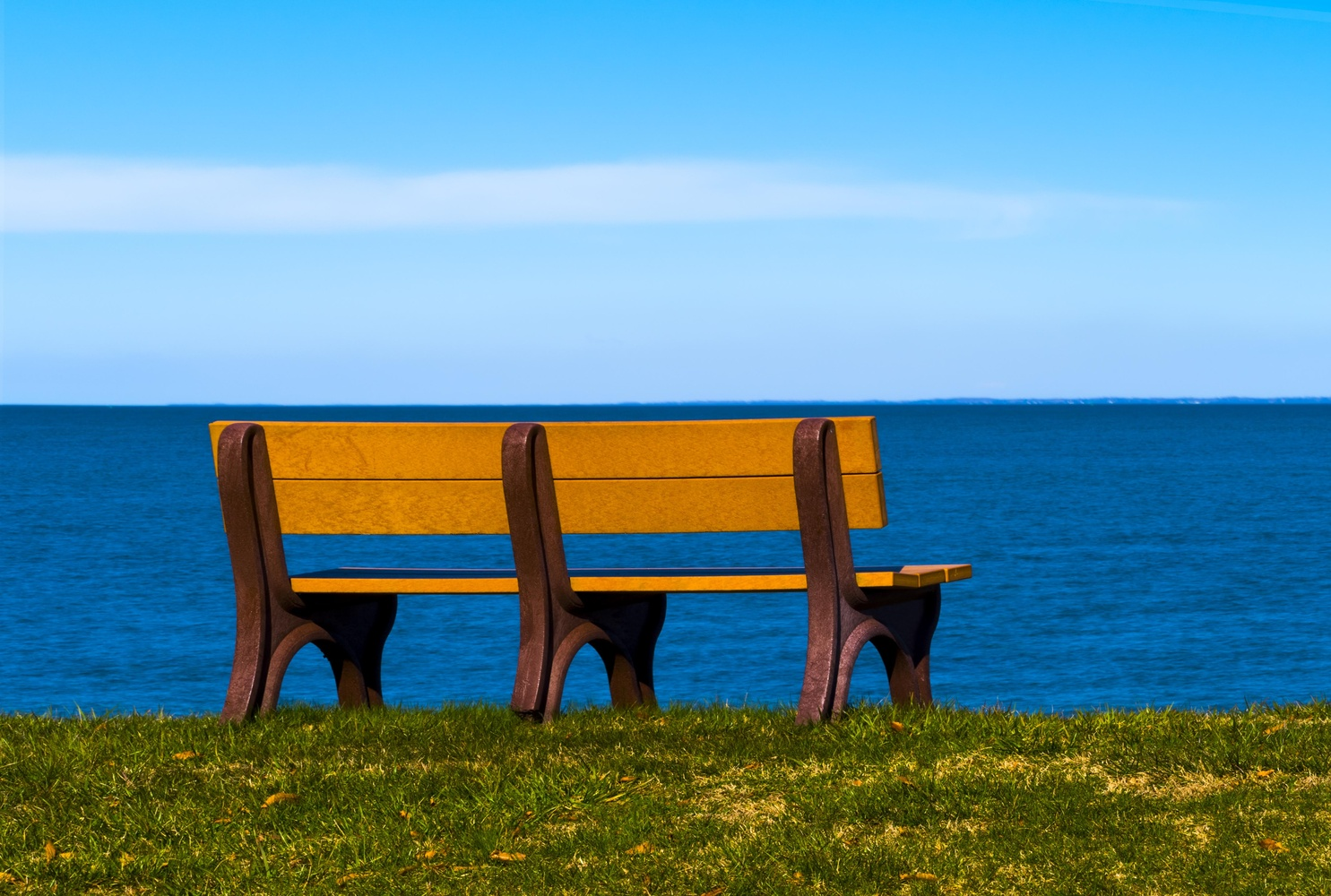 Bench on the Bay by Dave Haynie