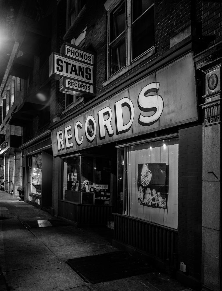 Record Shop in Lancaster by Dave Haynie