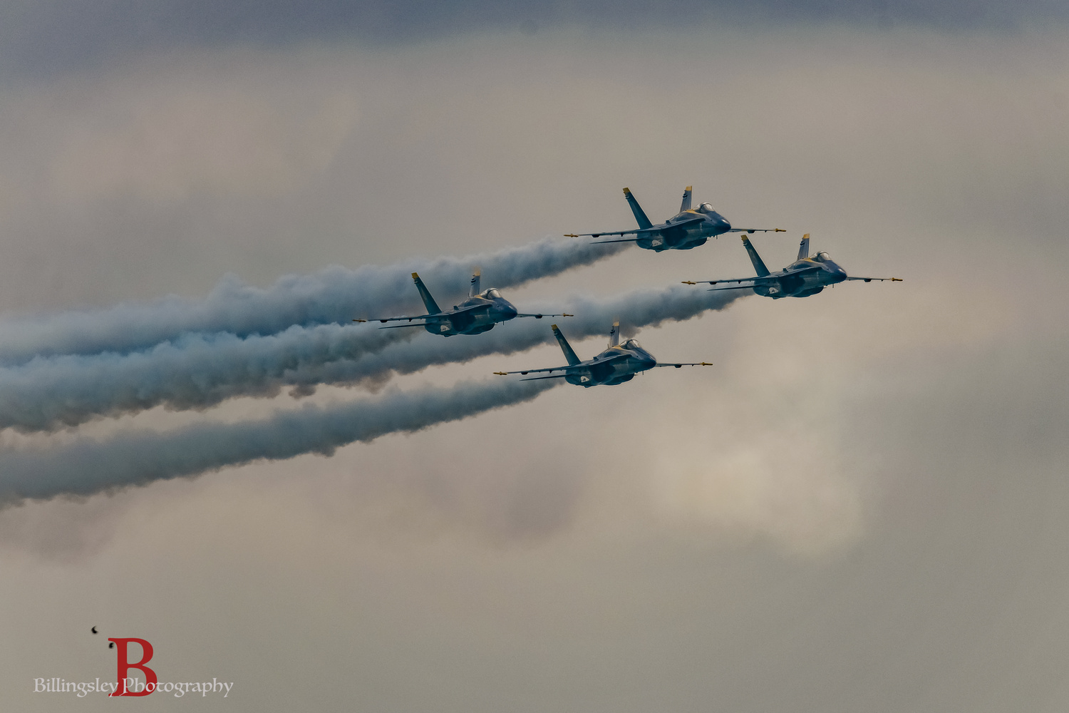 The Awesome Blue Angels by Cliff Billingsley