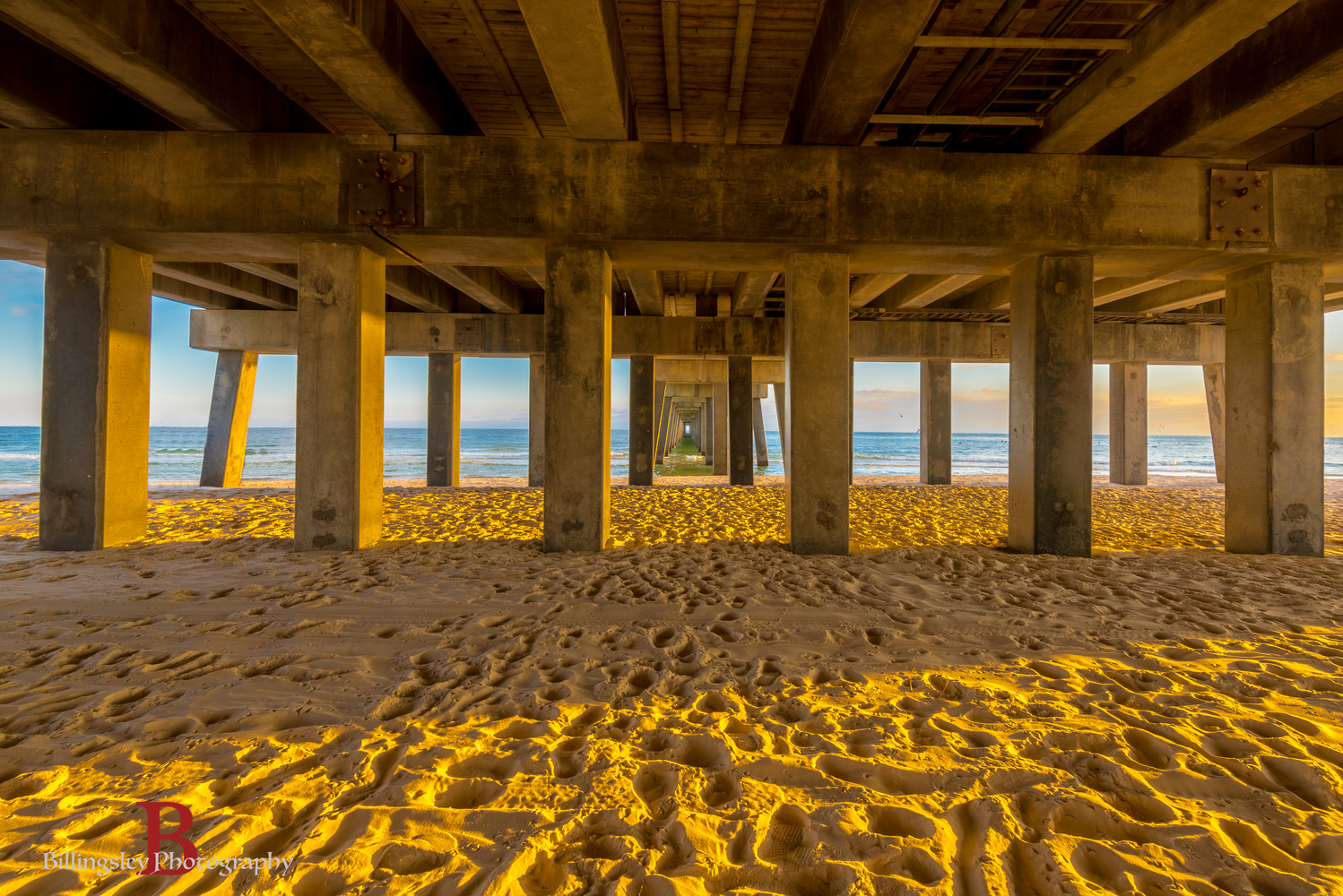 Under the Dock by Cliff Billingsley