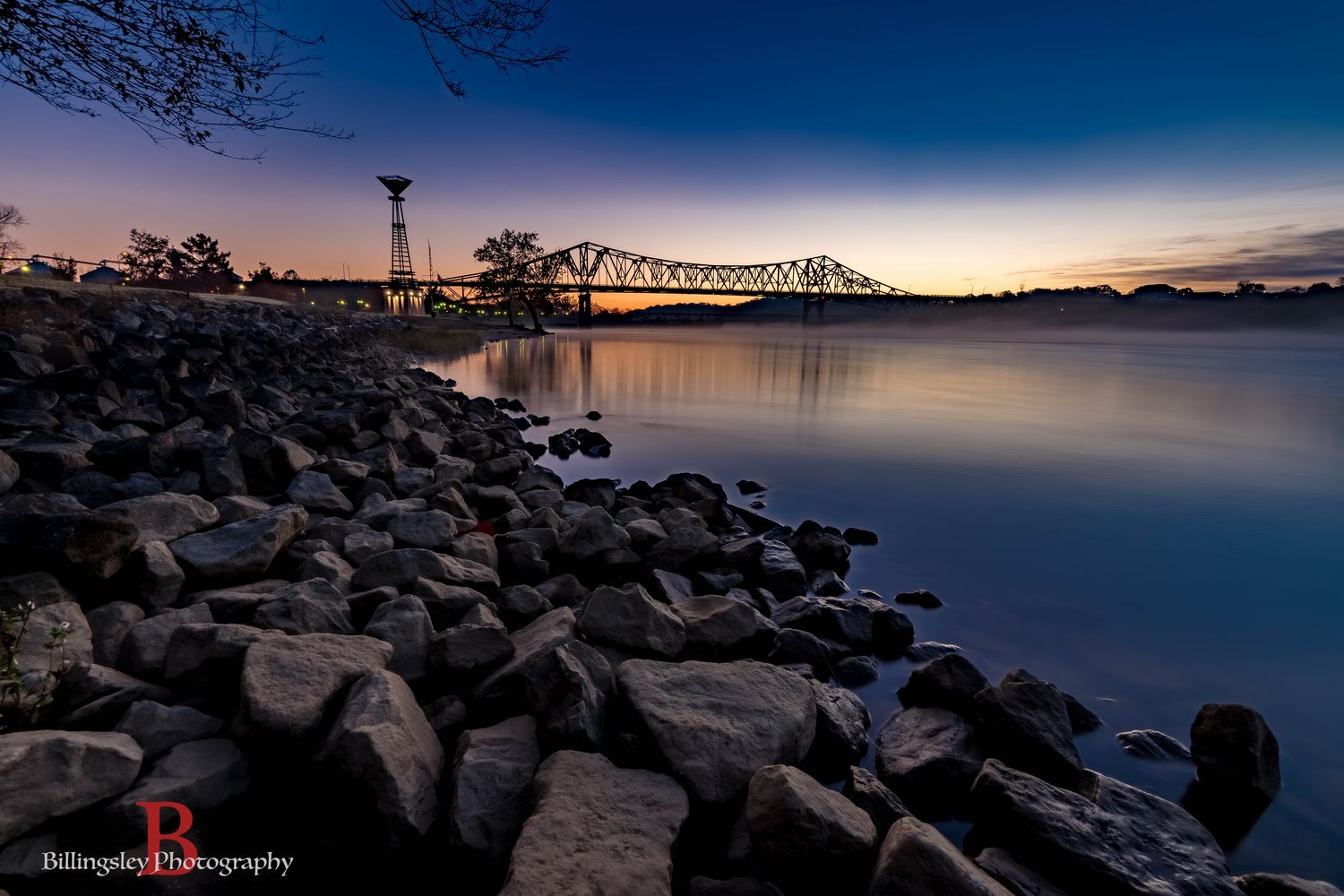 The Beautiful Tennessee River by Cliff Billingsley