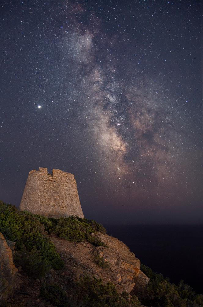 Milky Way Tower by Nicolò Caredda