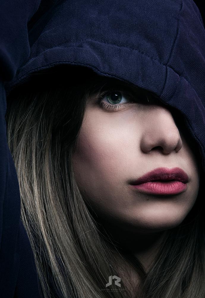 Mariana & hoodie by Javier Rodriguez