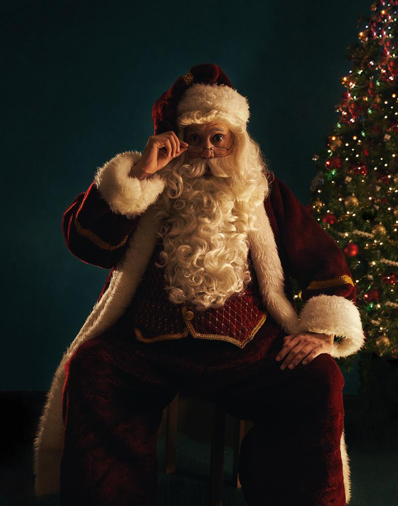 Santa Look by Misrai Sierra