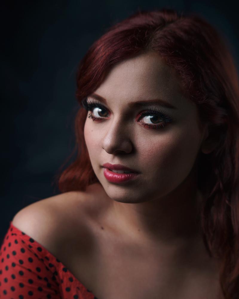 Lady in red by Misrai Sierra