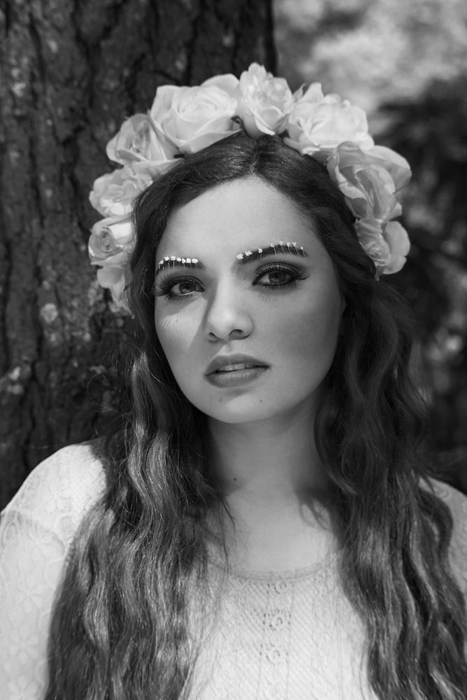 Garden Girl by Misrai Sierra