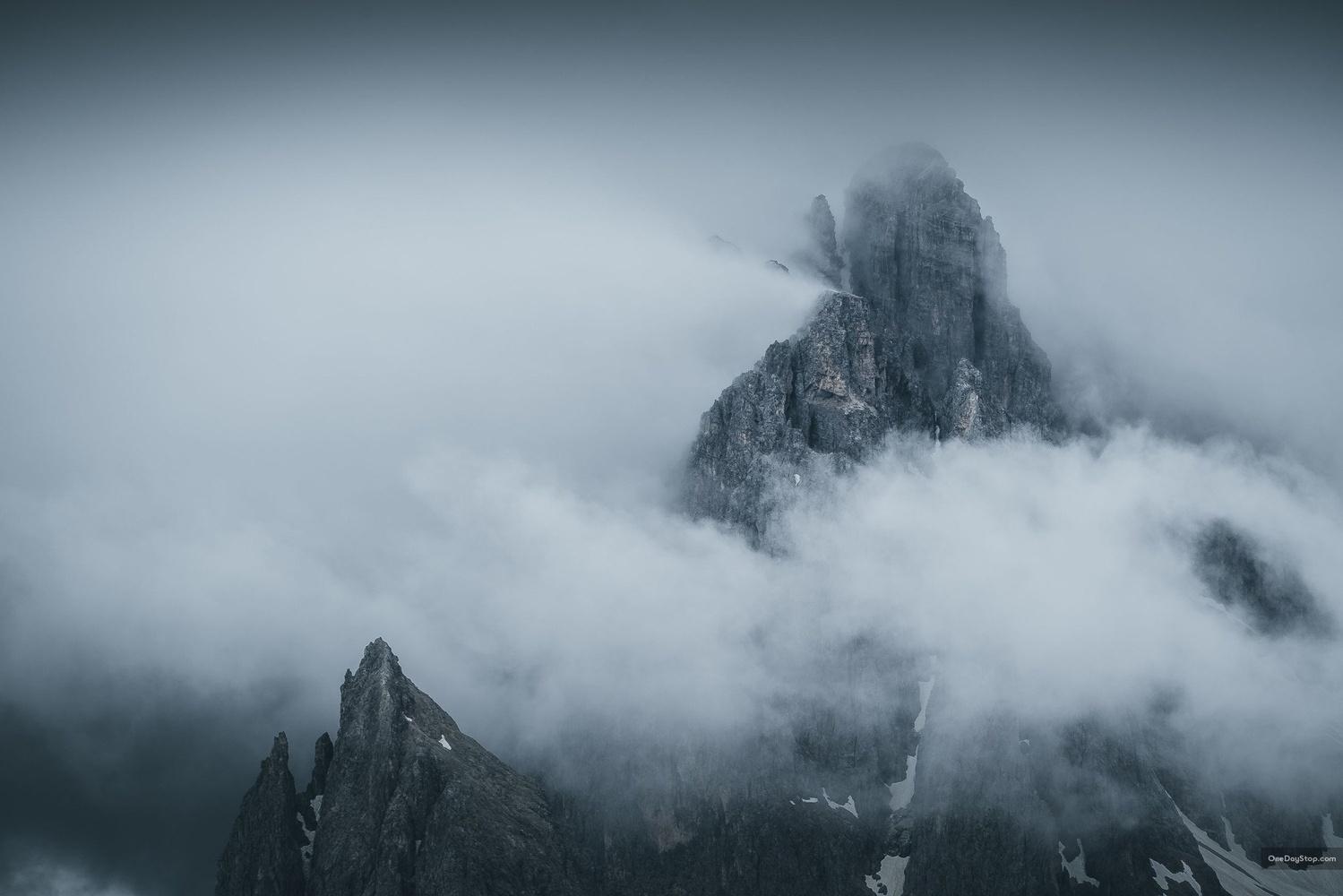 Storm in the Dolomites by Maciej Karpinski