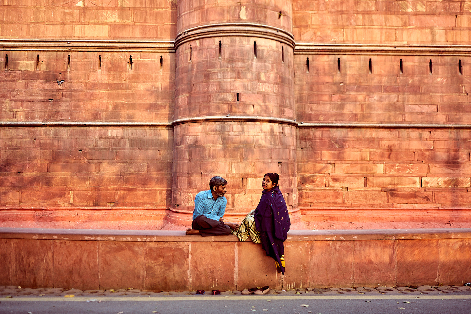 Indian Couple by Nab Nabil