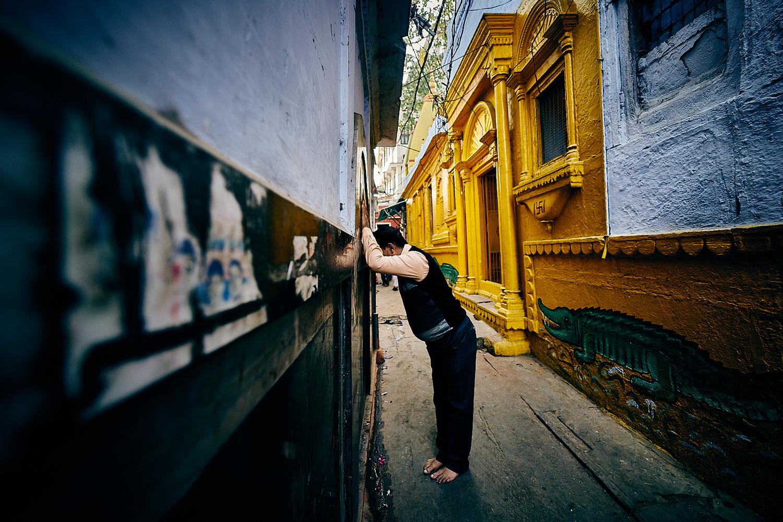 Hindu prayer by Nab Nabil