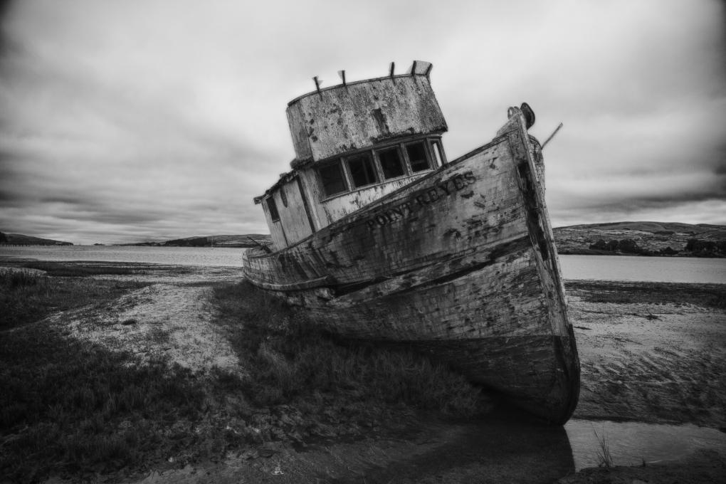 Point Reyes Shipwreck by Justin Rosenberg