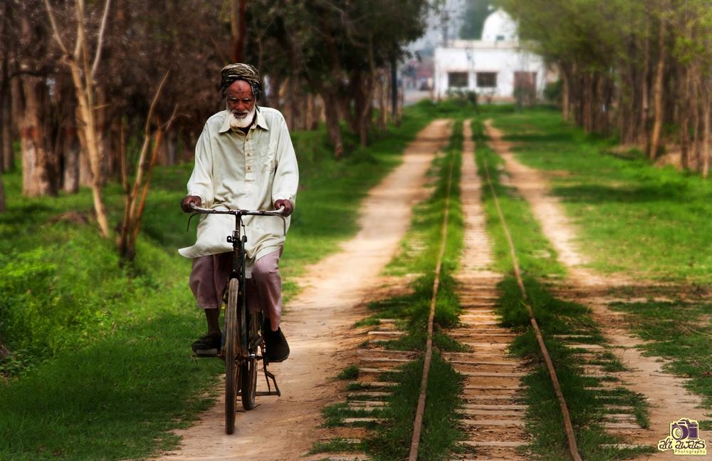 Moving Alongside the Track by ali awais