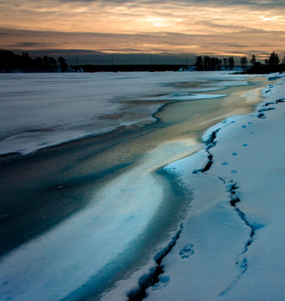 Frozen Path by Ville Saarinen