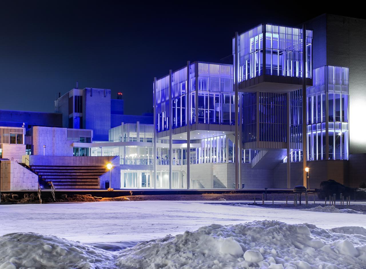 Community Center by Ville Saarinen