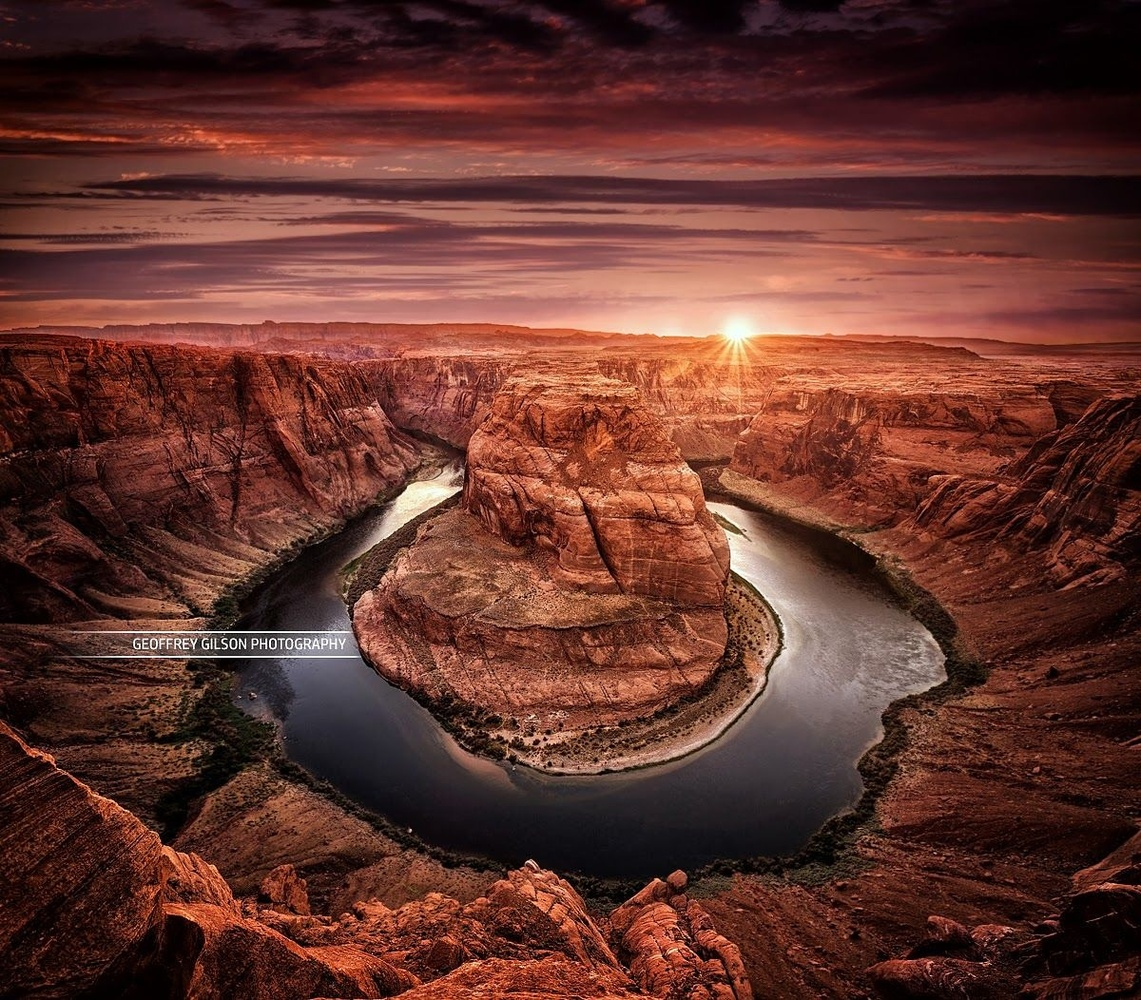 The Horseshoe Bend by Geoffrey Gilson