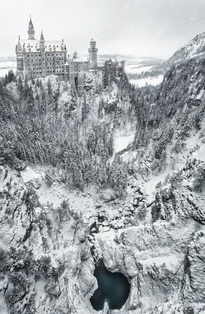 Neuschwanstein by Geoffrey Gilson