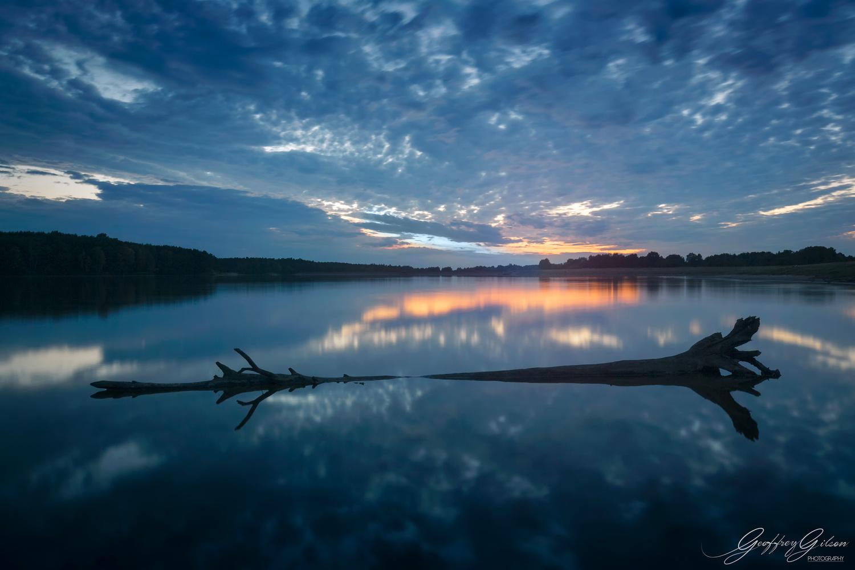 Lake placid by Geoffrey Gilson