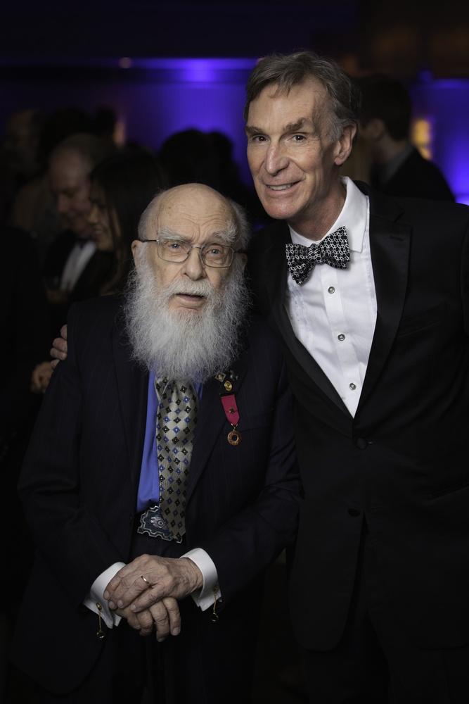 Bill Nye and James Randi by Anthony Harden