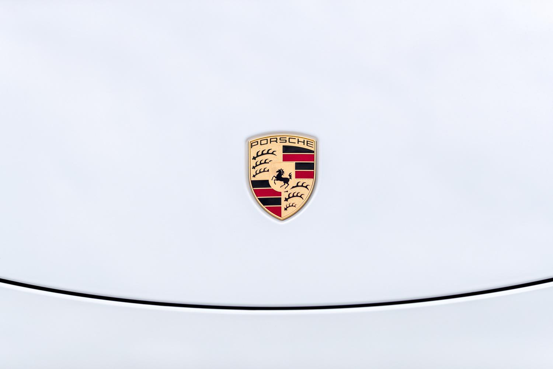 Porsche Emblem by Anthony Harden