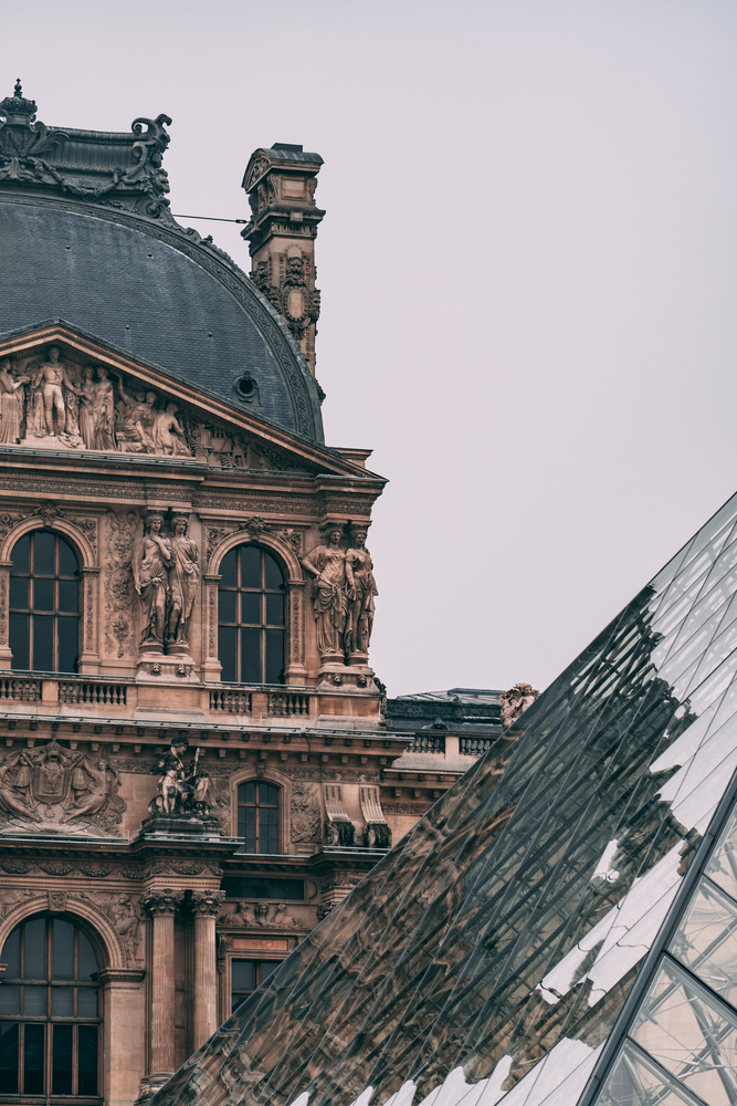 Louvre Reflections by Adam McGhie