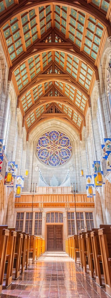Cathedral in Spokane Washington by Michael Wolfgram