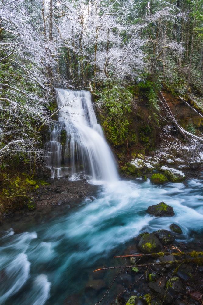 Snow Creek by Daniel Gomez