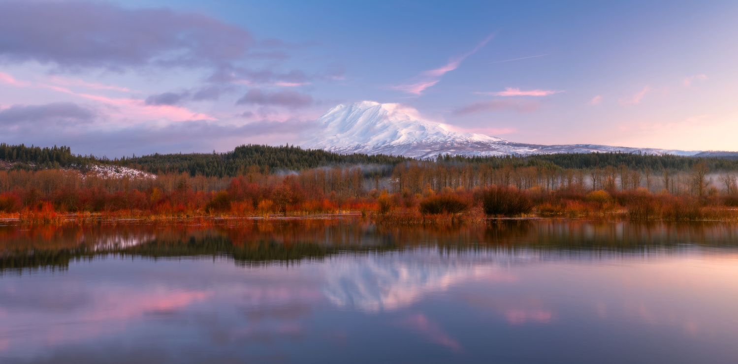 "Mt. Adams by the ""Lake"" by Daniel Gomez"