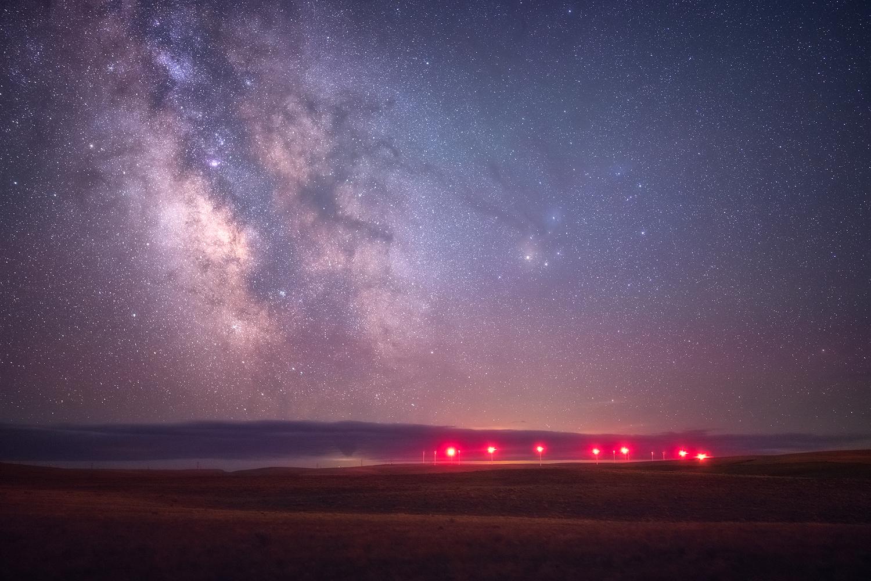 Galactic Glow by Daniel Gomez