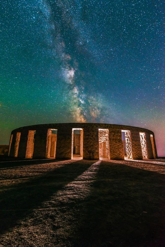 Stonehenge Illuminated by Daniel Gomez