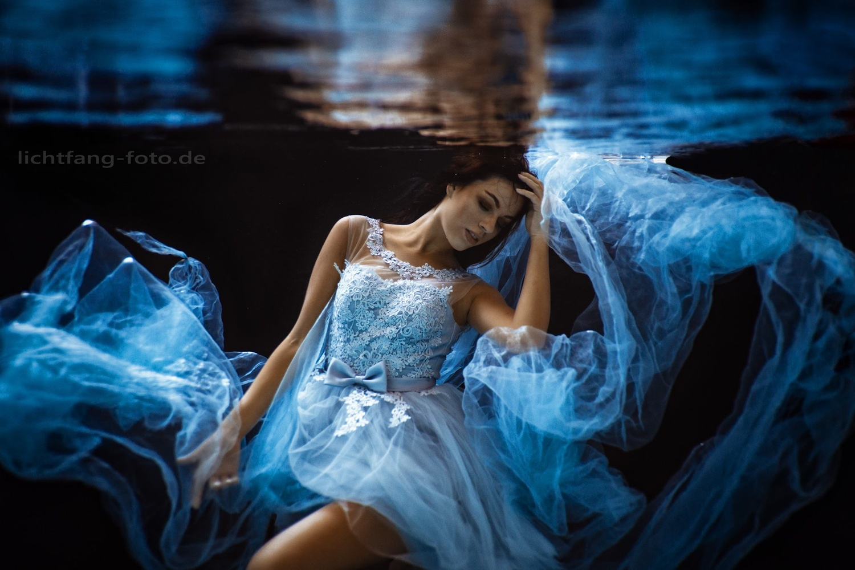 feminine blue by Christian Zink
