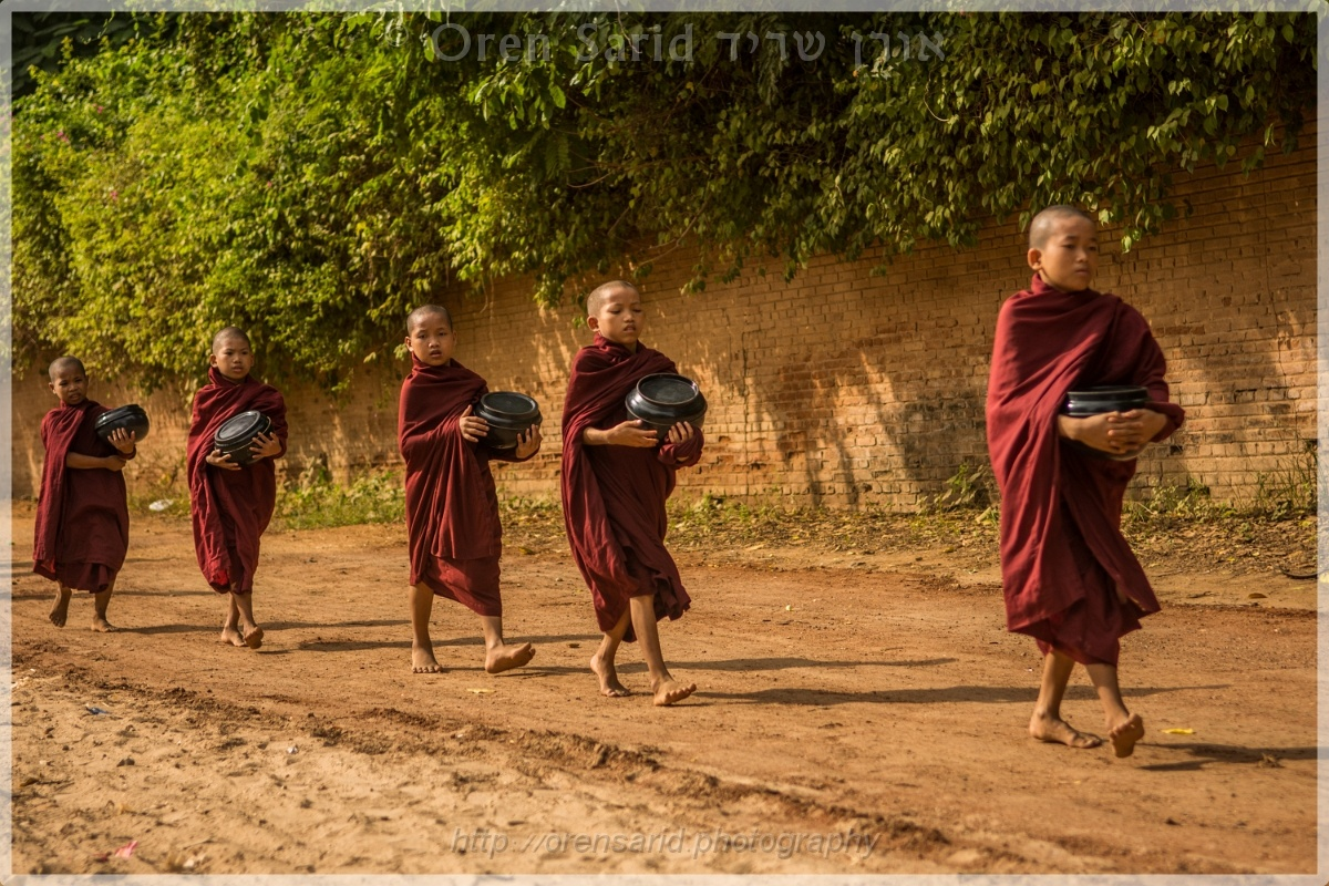 The marching monks by Oren Sarid