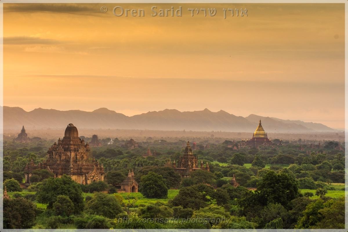 Sunrise in Bagan, Myanmar by Oren Sarid