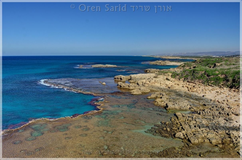 Dor Beach, Israel by Oren Sarid