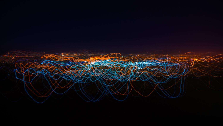 Dancing night Skye by Scott kirkbride