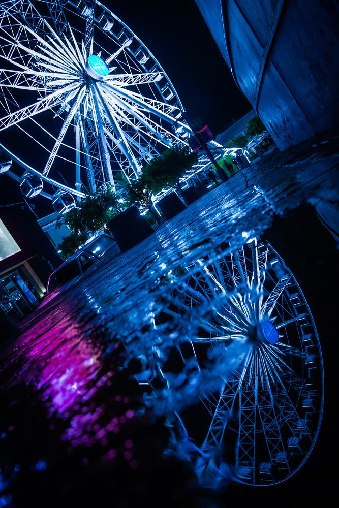 Lights Reflection by Scott kirkbride