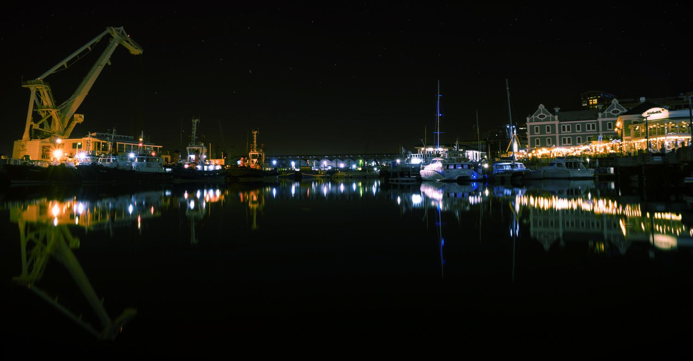 Cape Town Harbour by Scott kirkbride