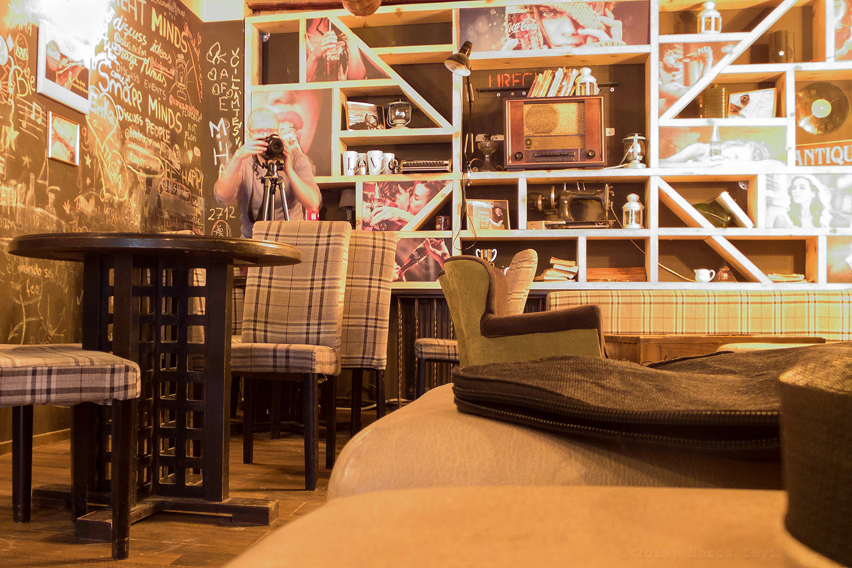 Artist's room by Levente Boros