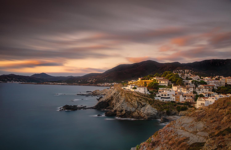 Llanca Sunrise by Aaron Gannon
