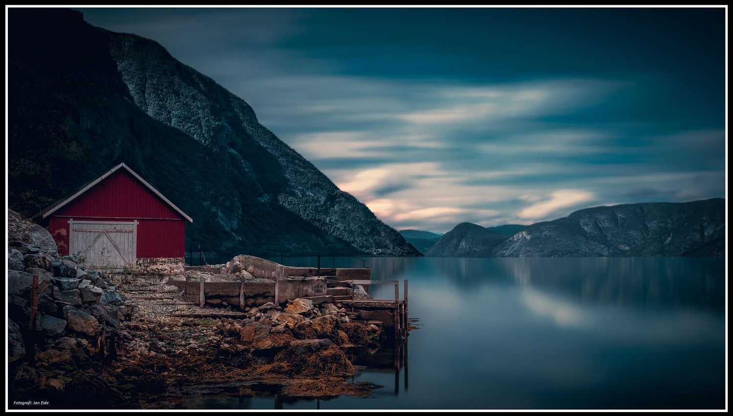 Boathouse in Lærdal by Jan Eide