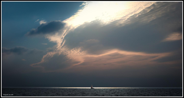 Sailboat by Jan Eide
