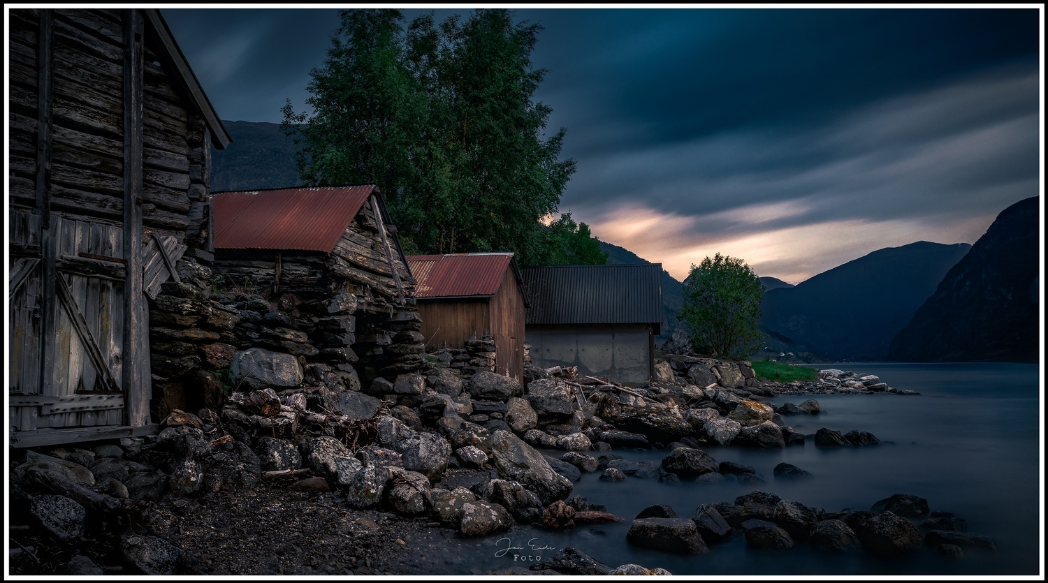 Old and Older Boathouses by Jan Eide